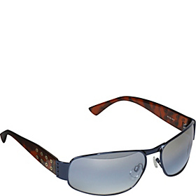 Metal Frame Sunglasses Navy