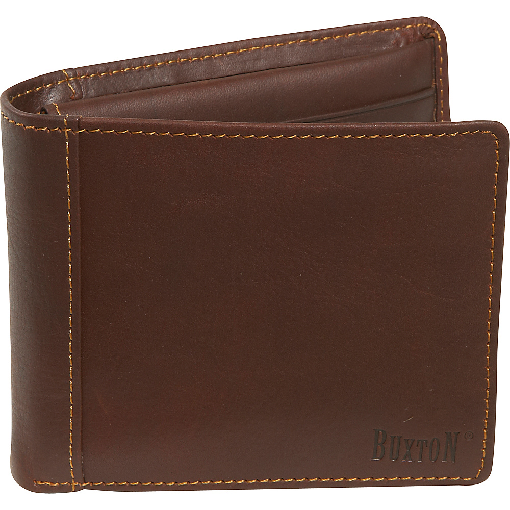 Buxton Sandokan Deluxe Thinfold Brown - Buxton Mens Wallets - Work Bags & Briefcases, Men's Wallets