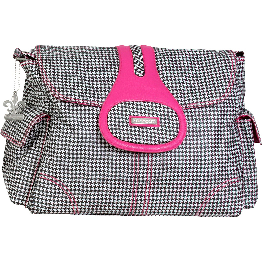 Kalencom Elite Tiny Houndstooth Kalencom Diaper Bags Accessories