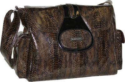 Kalencom Elite Cosmopolitan Chocolate - Kalencom Diaper Bags & Accessories