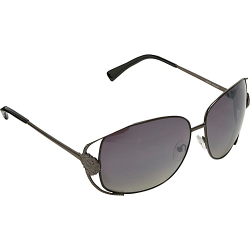 Vince Camuto Eyewear Oversized Metal Sunglasses - Matte