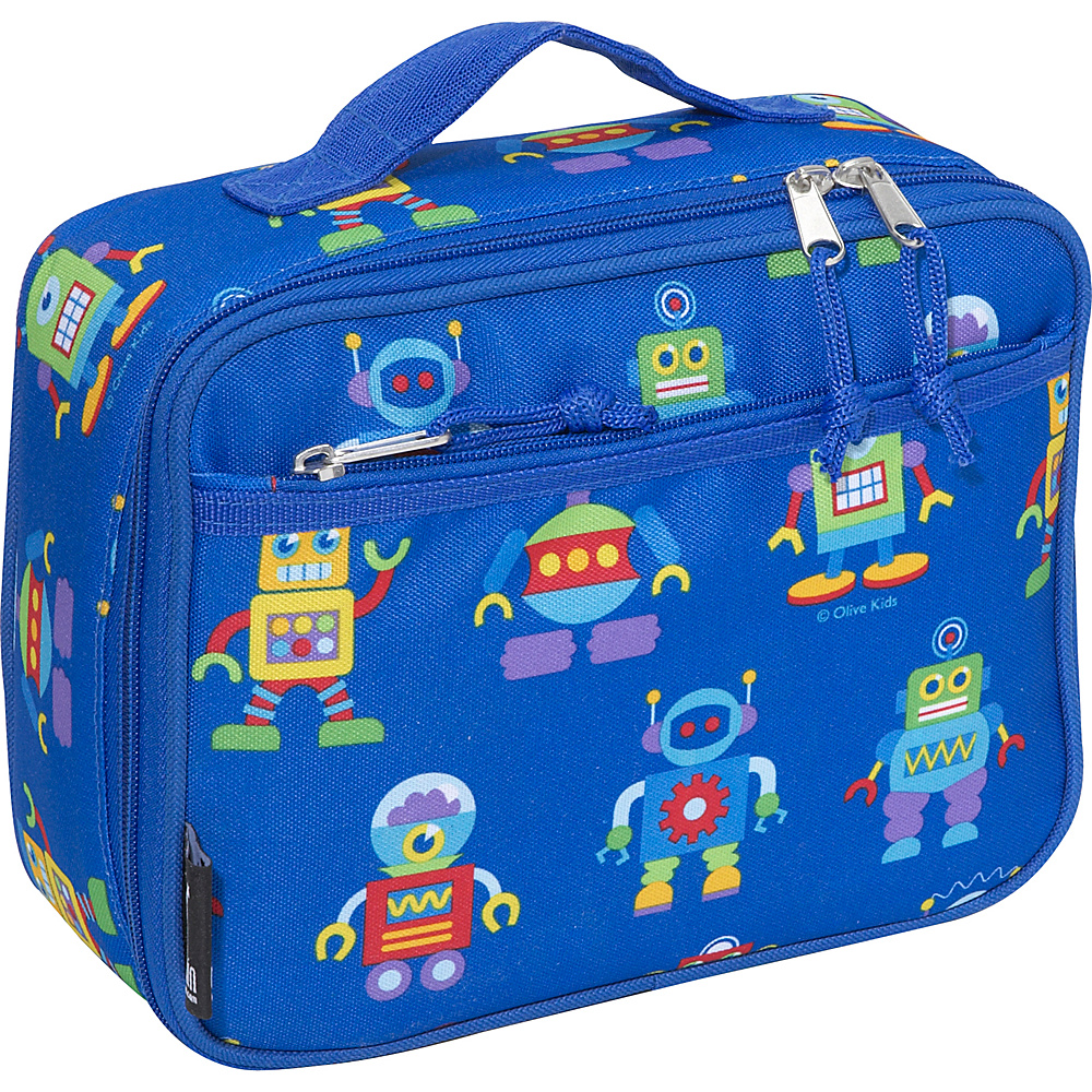 Wildkin Olive Kids Robots Lunch Box - Robots - Travel Accessories, Travel Coolers
