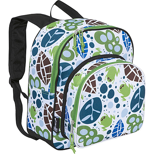 Wildkin Lily Frogs Pack 'n Snack Backpack Lily Frogs - Kids' Backpacks