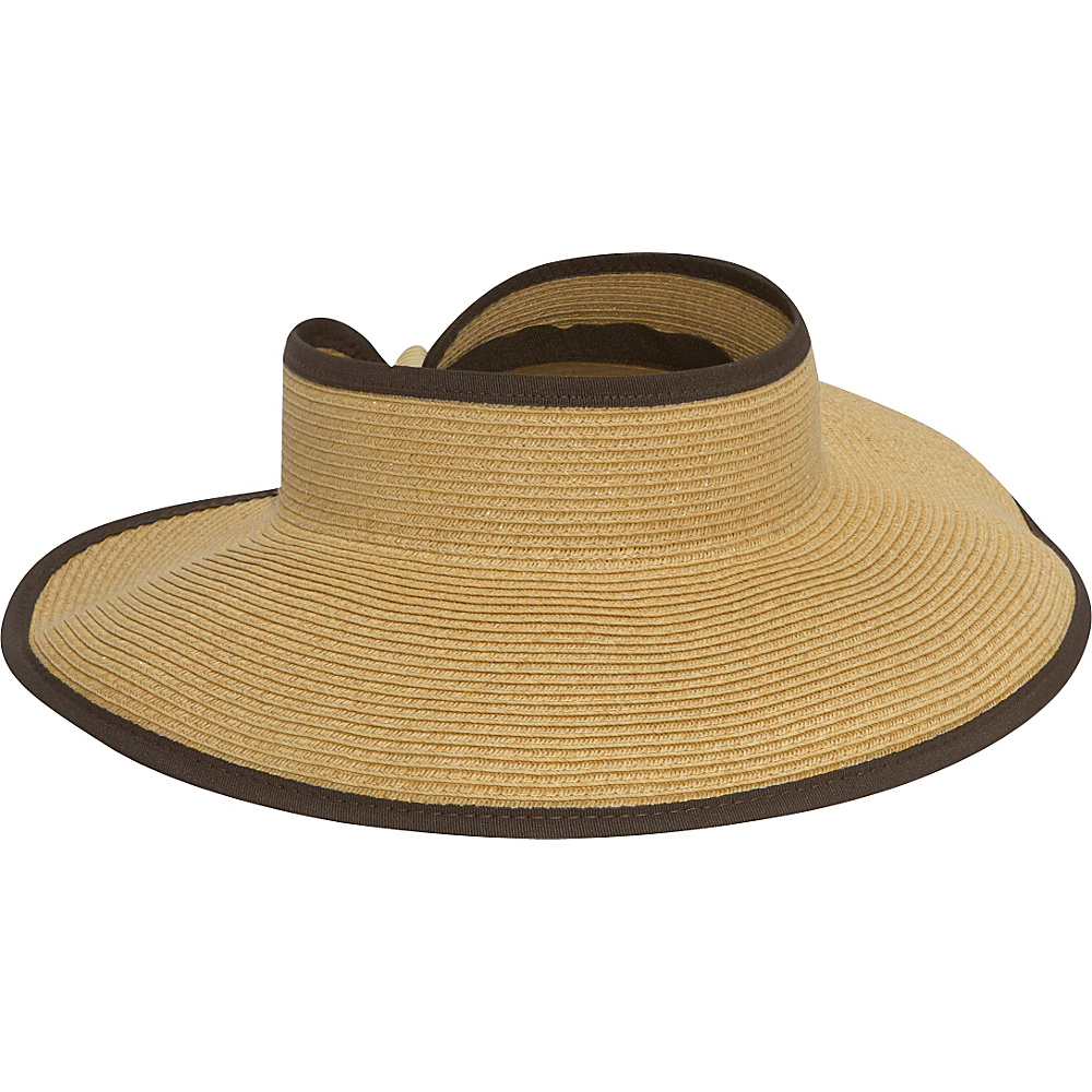 San Diego Hat Roll Up Visor - camel - Fashion Accessories, Hats/Gloves/Scarves