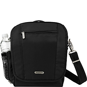 RFID Blocking Anti-Theft Tour Bag - Medium Black