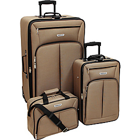 Jackson 3 Piece Luggage Set TAUPE