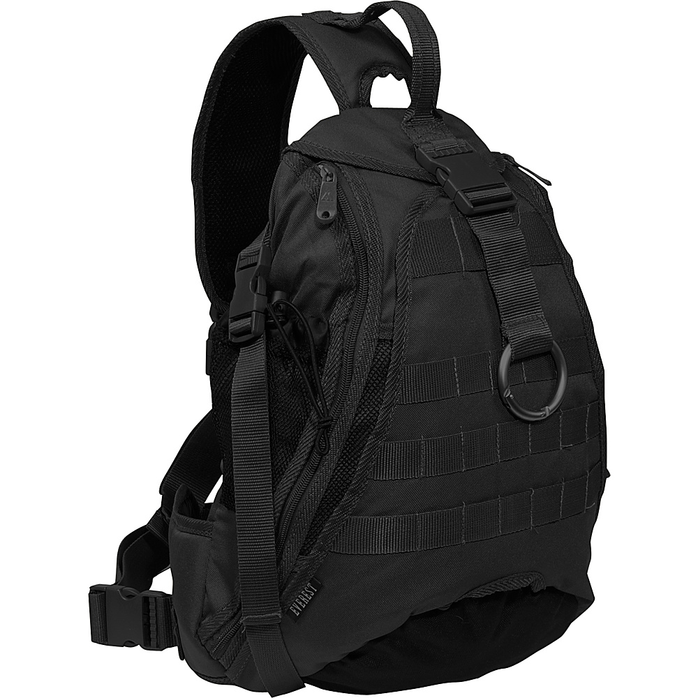 Everest Sporty Hydration Sling Bag - Black - Backpacks, Slings