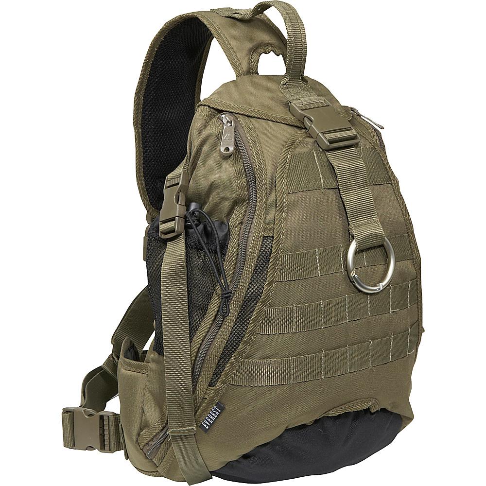 Everest Sporty Hydration Sling Bag - Olive/Black