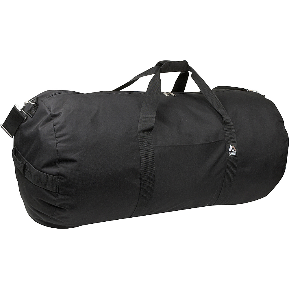 Everest 40 Round Duffel - Black - Duffels, Travel Duffels