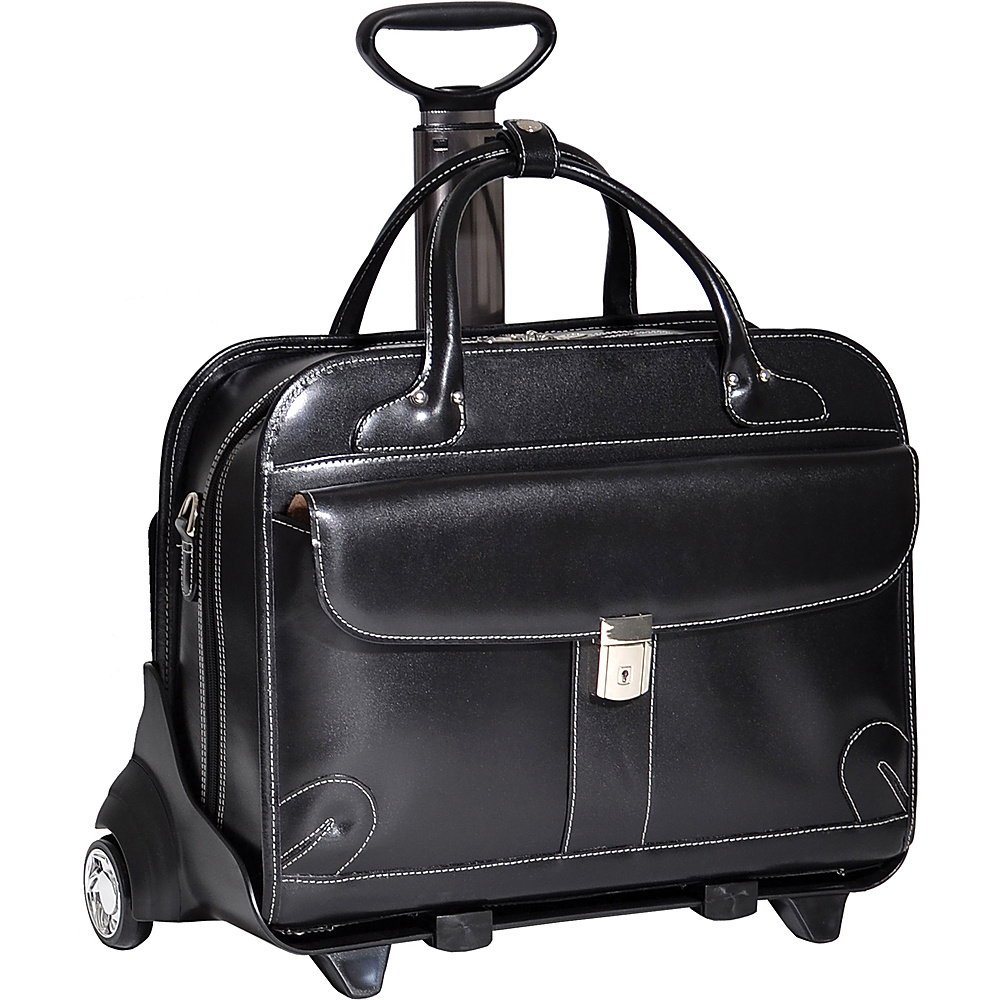 McKlein USA Lakewood -Fly-Through Checkpoint-Friendly - Work Bags & Briefcases, Wheeled Business Cases