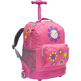 Daisy Rolling Kids Backpack (Kids ages 4-8) Daisy