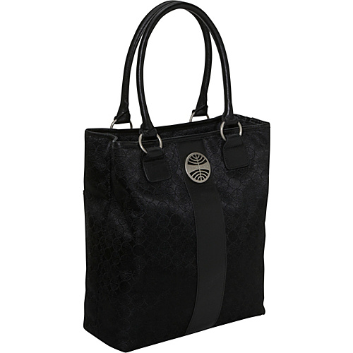 Pan Am Signature Tote SIGNATURE BLACK - Pan Am Fabric Handbags