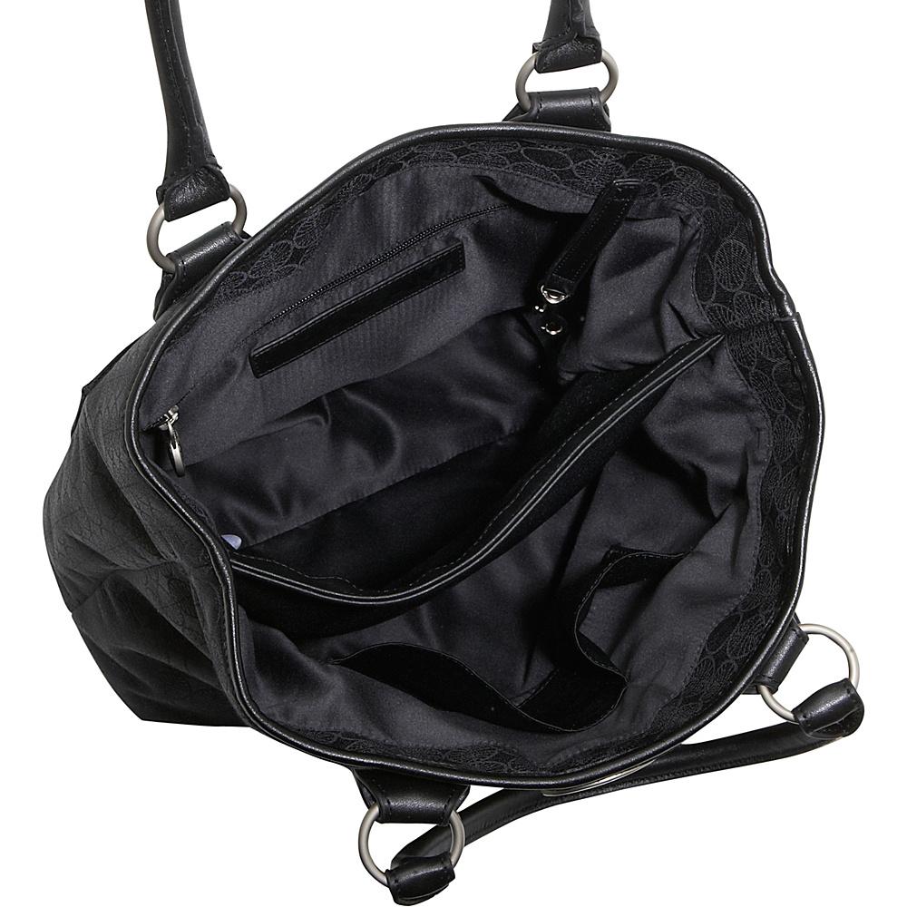 Pan Am Signature Tote SIGNATURE BLACK - Pan Am Fabric Handbags