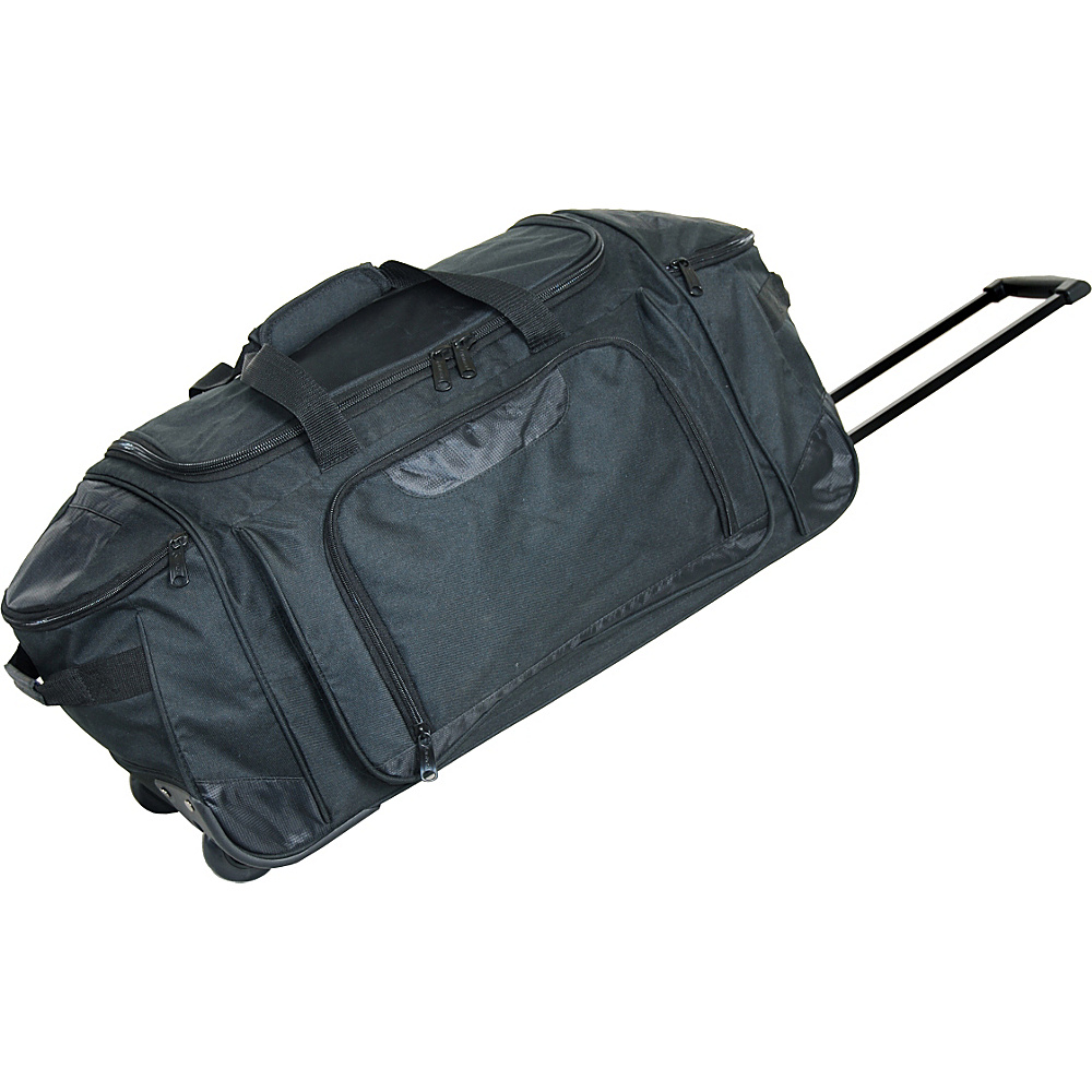 Netpack 28 Tech Club Wheeled Duffel - Black - Luggage, Rolling Duffels