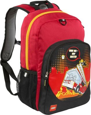 LEGO Fire City Nights Classic Backpack RED - LEGO Everyday Backpacks