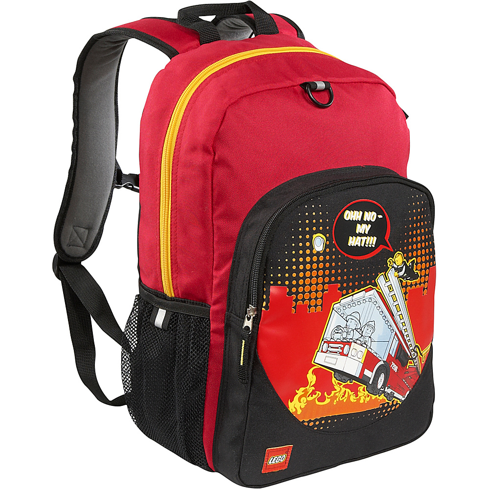 LEGO Fire City Nights Classic Backpack RED LEGO Everyday Backpacks