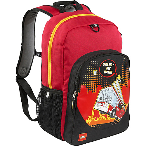 LEGO Fire City Nights Classic Backpack RED - LEGO Kids' Backpacks