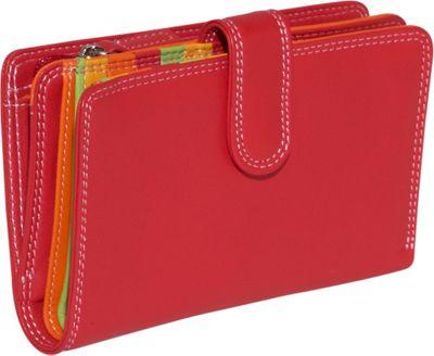 BelArno Medium Vertical Bifold Multi Color Wallet in