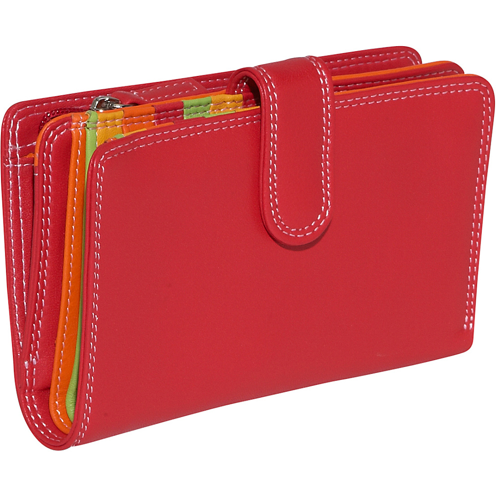BelArno Medium Vertical Bifold Multi Color Wallet in - Women's SLG, Women's Wallets