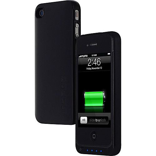 Incipio OffGrid Battery Case for iPhone 4 - Black