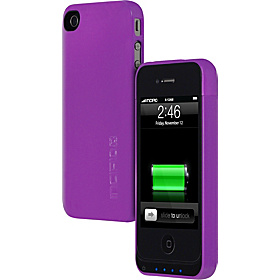 OffGrid Battery Case for iPhone 4 Glossy Lavender