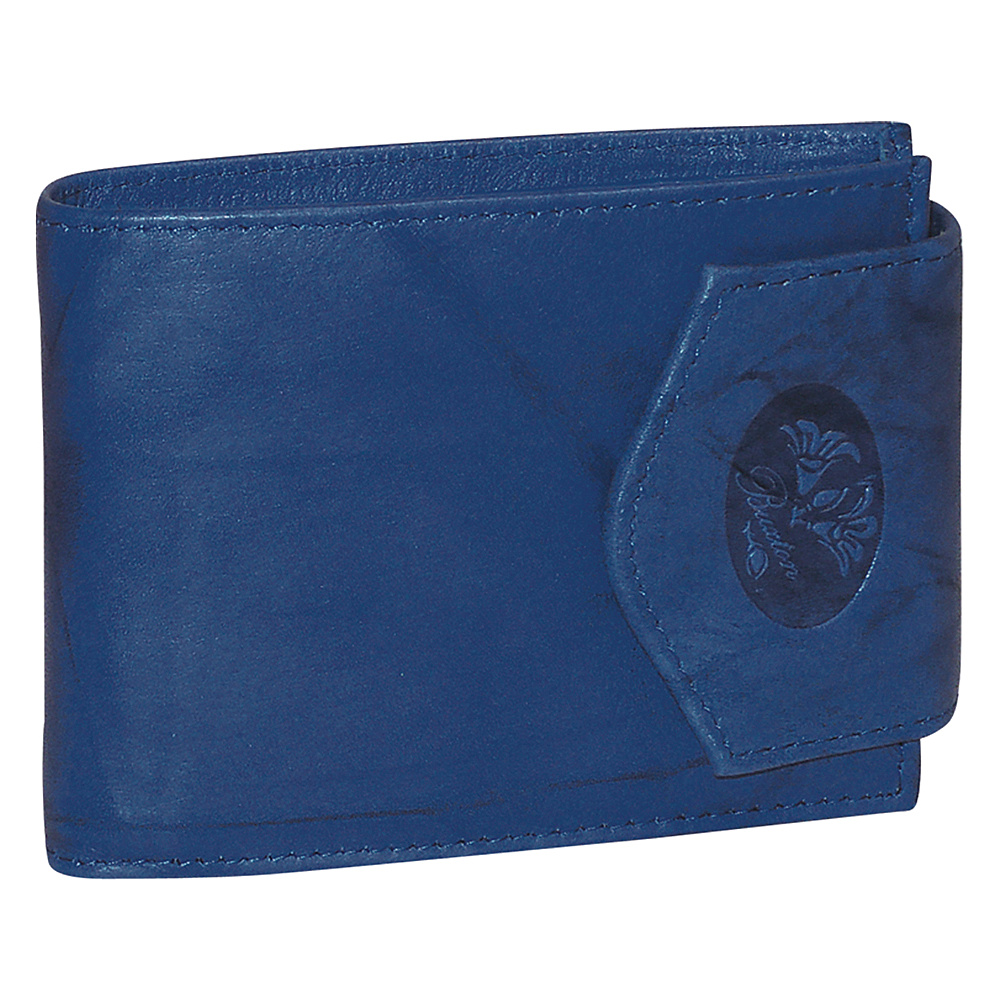 Buxton Heiress Convertible Billfold Ultramarine Buxton Women s Wallets