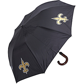 New Orleans Saints Woody Umbrella Black