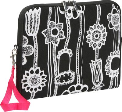 Do It Yourself Samsonite Fashionaire iPad Sleeve - Black/White Print Save