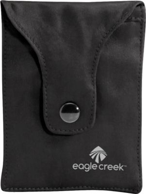 Eagle Creek Silk Undercover Bra Stash Black - Eagle Creek Travel Wallets