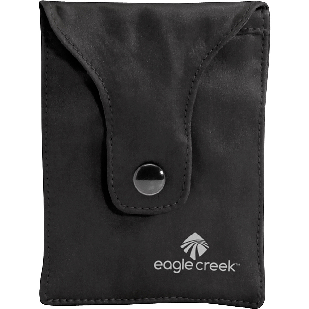 Eagle Creek Silk Undercover Bra Stash Black Eagle Creek Travel Wallets