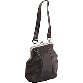 Miss Malik Kisslock Bag Chocolate Brown