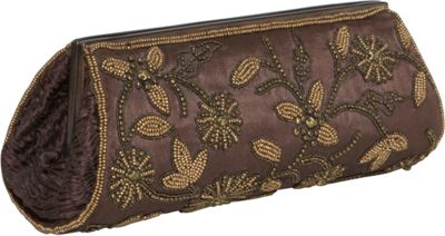 Moyna Handbags Beaded Evening Clutch - Clutch