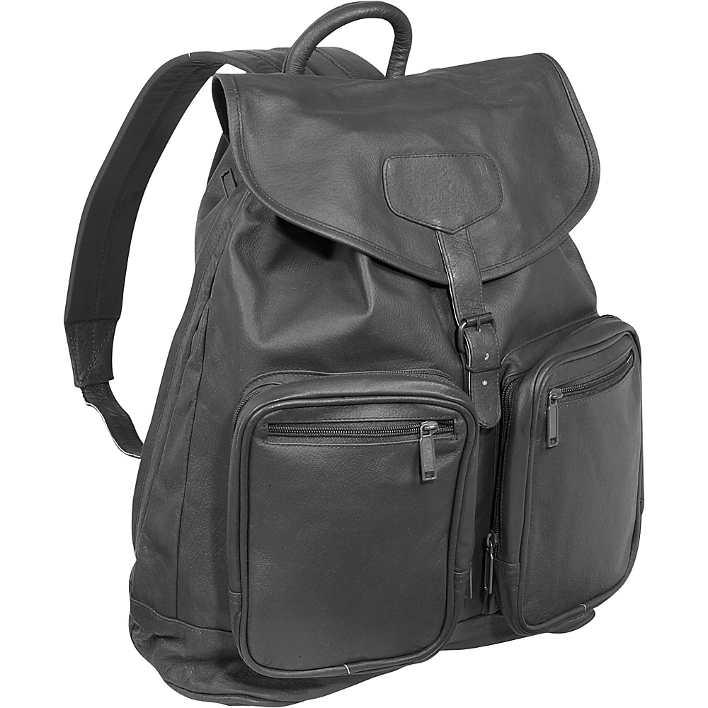 Bellino Sling Backpack - Black - Backpacks, Business & Laptop Backpacks