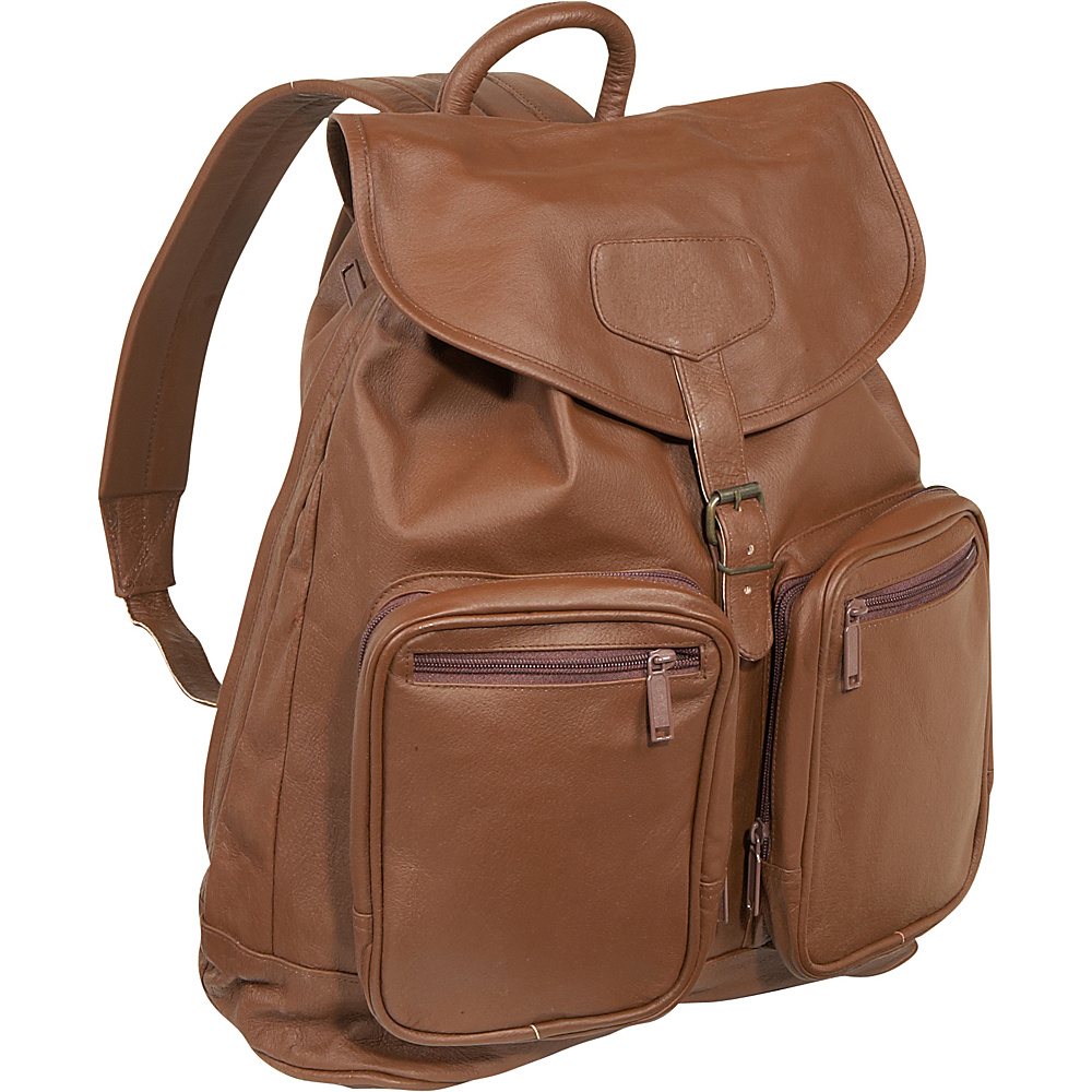 Bellino Sling Backpack - Brown - Backpacks, Business & Laptop Backpacks