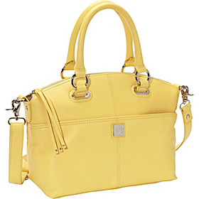 Lucca Satchel Pale Yellow