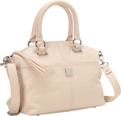 Piazza Lucca Satchel Blush - Piazza Leather Handbags