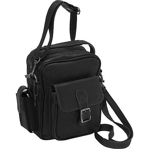 David King & Co. Men's Shoulder Bag - Black