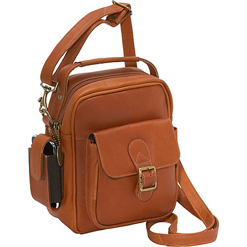 David King & Co. Men's Shoulder Bag - Tan