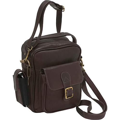 David King & Co. Men's Shoulder Bag - Cafe