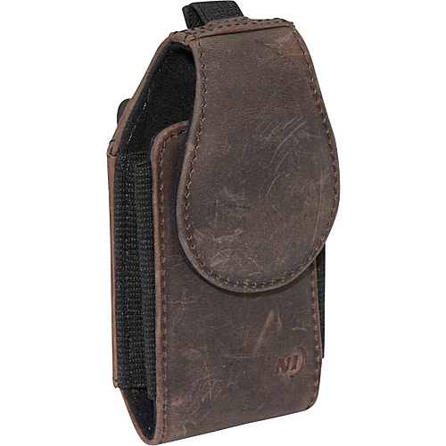 Nite Ize Clip Case Cargo Leather Medium - Espresso