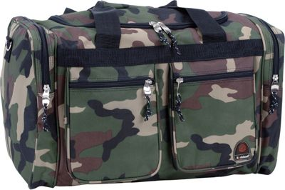 Rockland Luggage Freestyle 19 inch Tote Bag Camouflage Green - Rockland Luggage Rolling Duffels