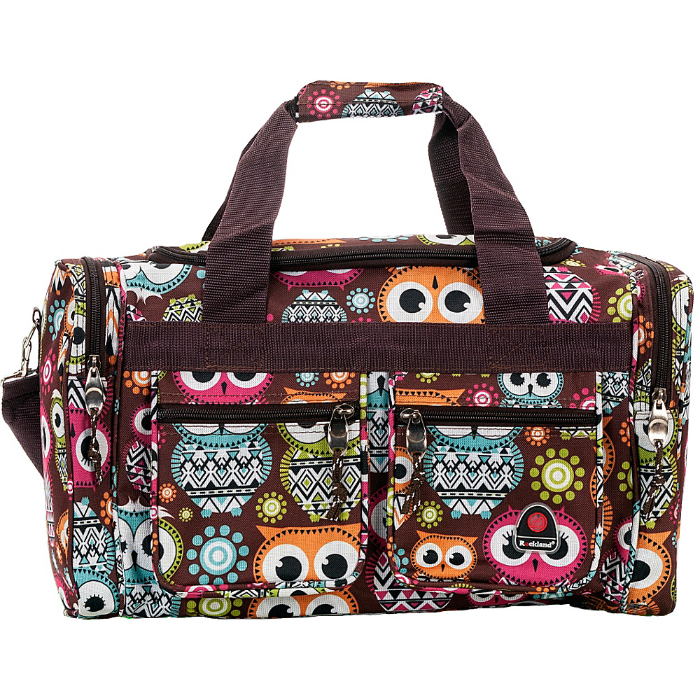 Rockland Luggage Freestyle 19 Tote Bag OWL Rockland Luggage Rolling Duffels
