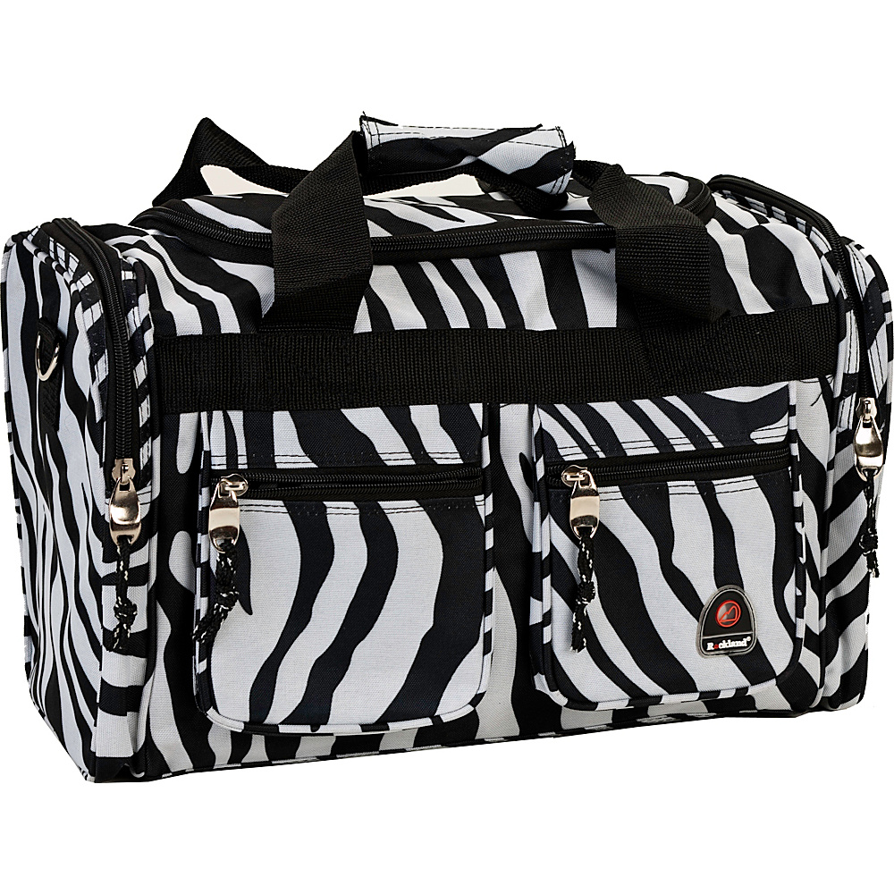 "Rockland Luggage Freestyle 19"" Tote Bag Zebra - Rockland Luggage Rolling Duffels"