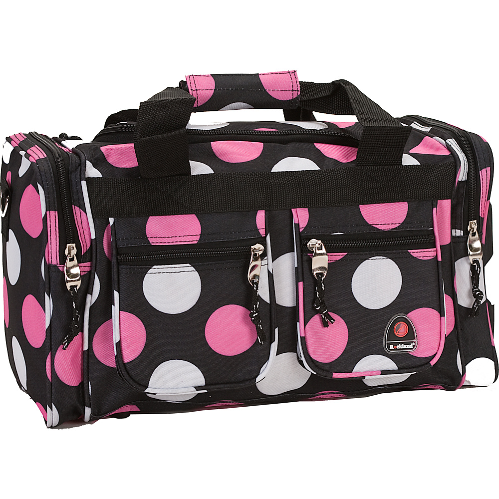 """Rockland Luggage Freestyle 19"""" Tote Bag - MultiPink Dot"""