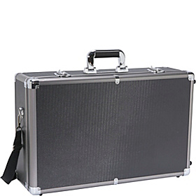 Extra Large Aluminum Wheeled Hard Case Black