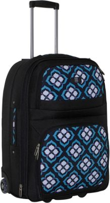 Nuo Chloe Dao 21 inch Carry On Trolley - Blue Lotus
