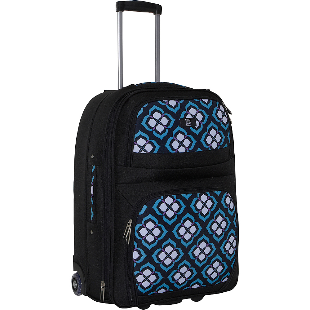 Nuo Chloe Dao 21 Carry On Trolley - Blue Lotus - Luggage, Softside Carry-On