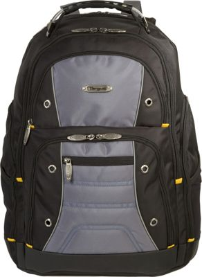 Targus Drifter II Laptop Backpack - 17 inch Black/Grey - Targus Business & Laptop Backpacks