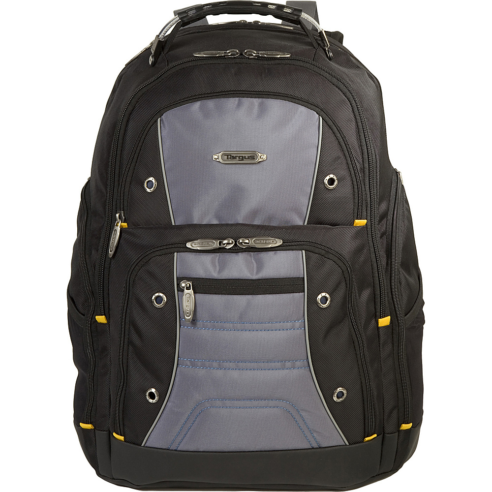 Targus Drifter II 17 Laptop Backpack Black Grey Targus Business Laptop Backpacks