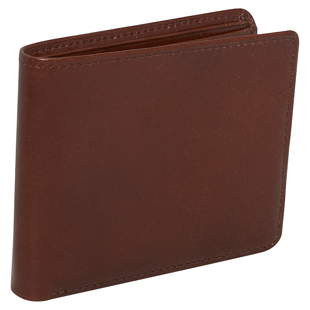 Jack Georges Sienna Collection Bi-fold Wallet - Cognac